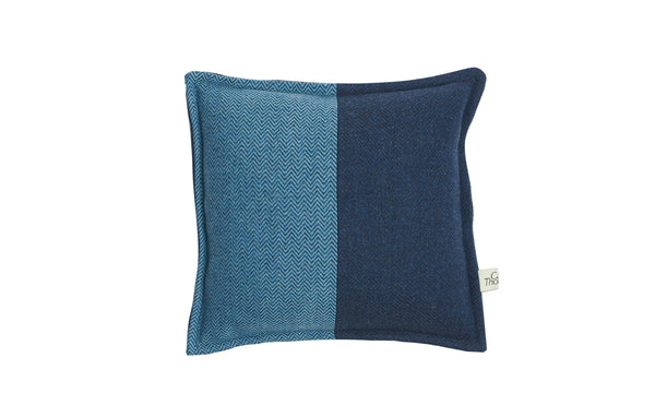 trilogy square cushion in 'peace' and 'storm' (2)