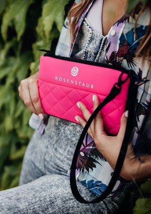 Neoprene Clutch by Rosenstaub - for your lipstick, car-keys and your mobile