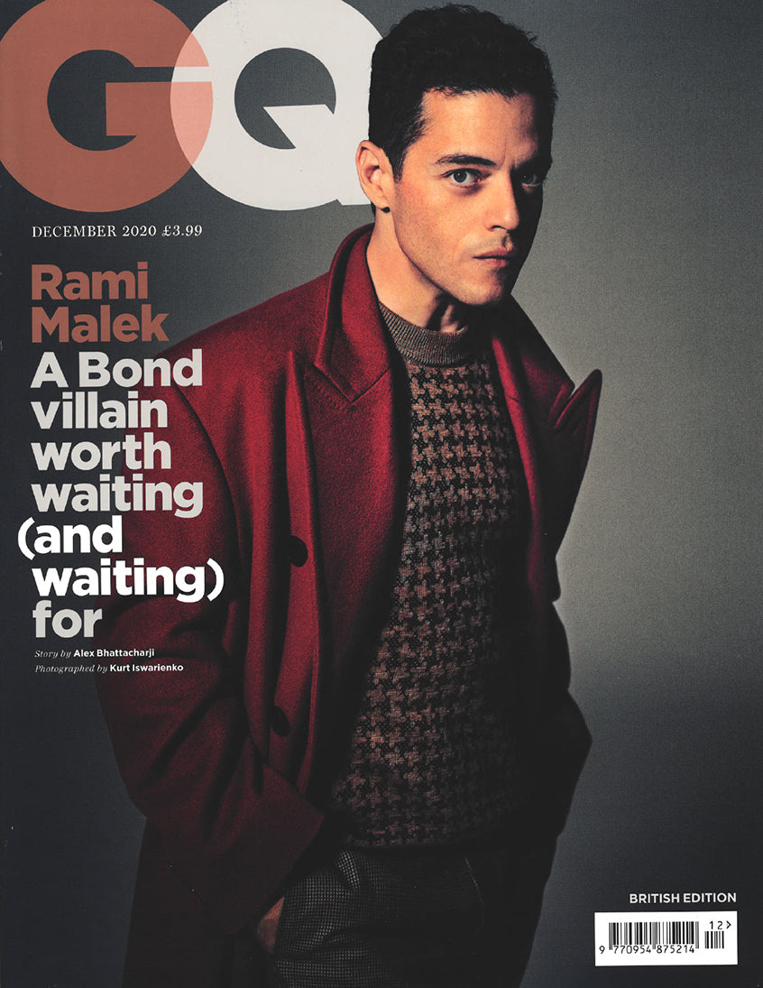 GQ British Edition - December 2020 issue - Rosenstaub