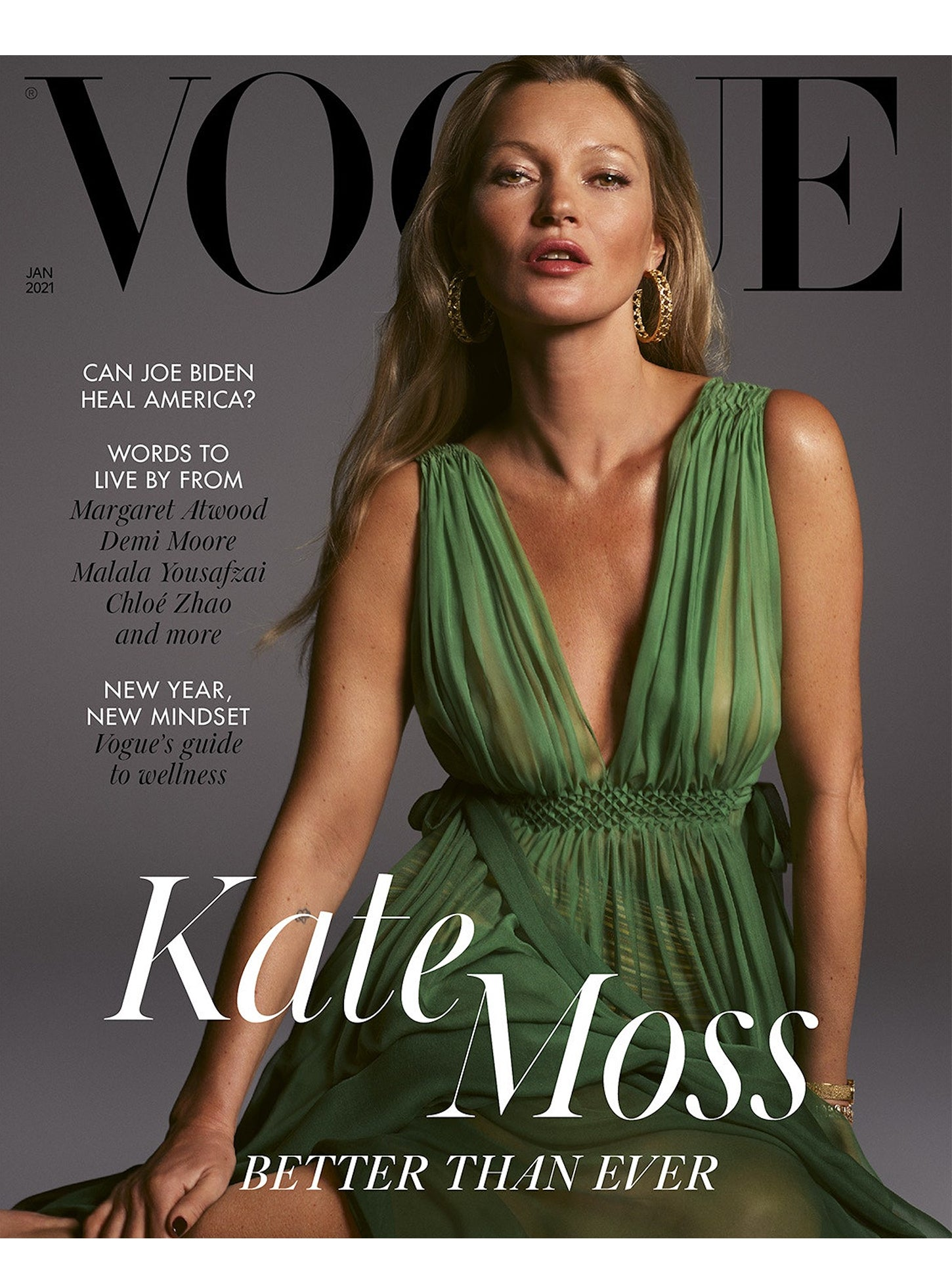British VOGUE cover - January 2021 Edition - Rosenstaub