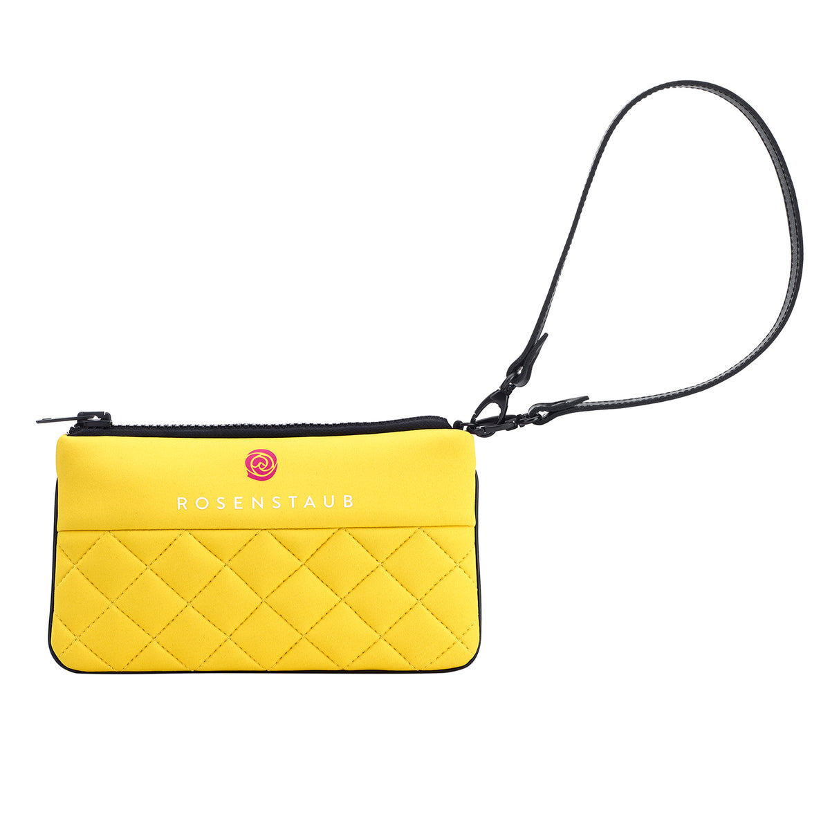 Neoprene Clutch ZOE - yellow