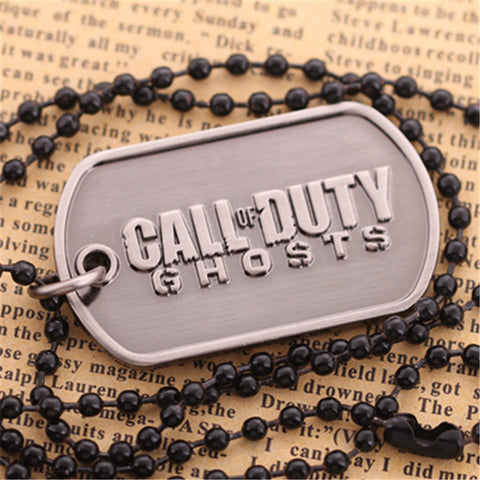 Call of Duty Ghosts Necklace