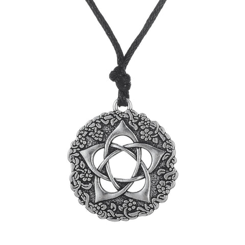 Pentagram Flower Necklace