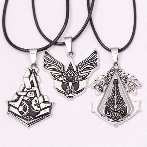 Vintage Assassins Creed Necklace