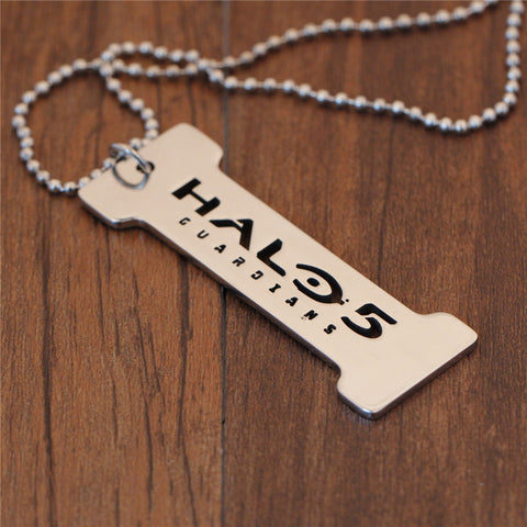 Halo 5 Stainless Steel Necklace