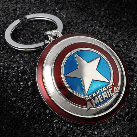 Captain America Pendant Key Chain