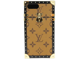 the best attitude 16fbb 6b393 Used - Very Good | Louis Vuitton iPhone7Plus cover eyephone case monogram  reverse M64487