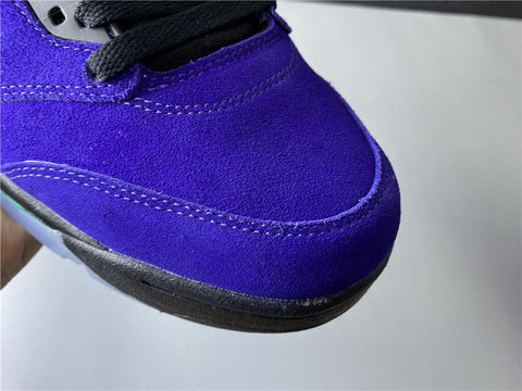 Image of Nike Air Jordan 5 Retro Alternate Grape Shoes Sneakers