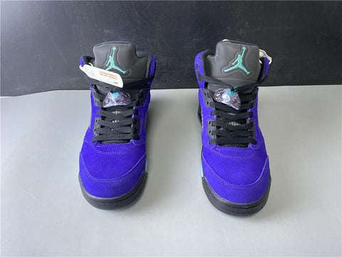 AJ 5 Retro Alternate Grape Shoes Sneakers