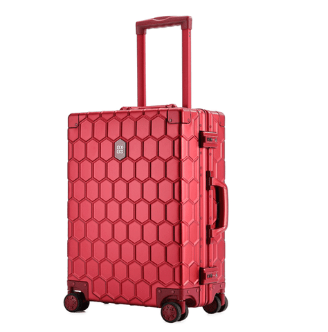 New Arrival SUPREME suitcase fashion tide brand trolley full aluminum magnesium 20-29 inch