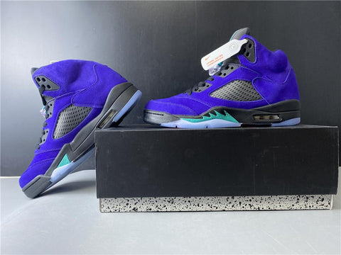 Nike Air Jordan 5 Retro Alternate Grape Shoes Sneakers
