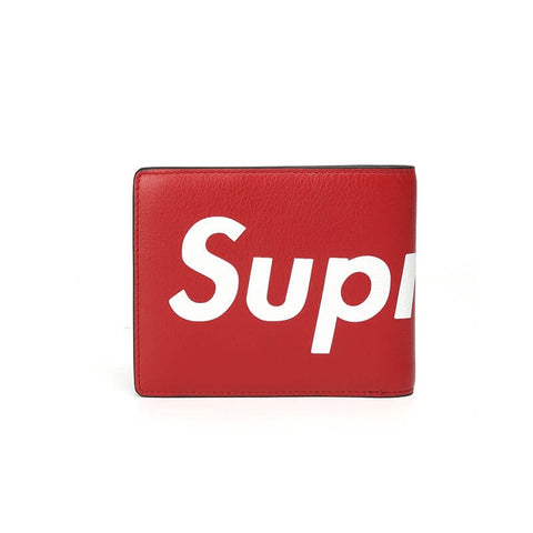 New Arrival SUPREME leather card wallet X500330001, X500330050