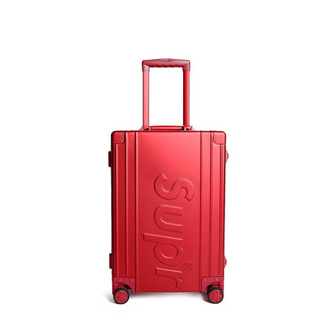 New Arrival SUPREME luggage aluminum-magnesium alloy trolley case 20-29 inch
