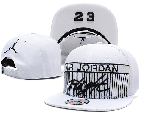New Arrival Jordan Snapback hip hop hats 6 colors