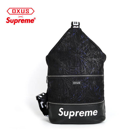 New Arrival SUPREME leather crossbody bag X916722001