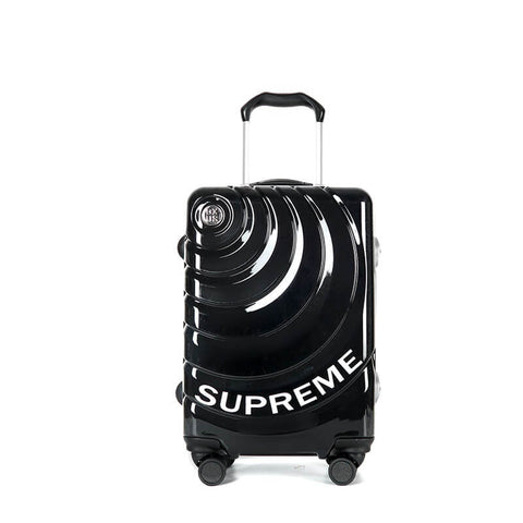 New Arrival SUPREME luggage aluminum-magnesium alloy trolley case 19-28 inch