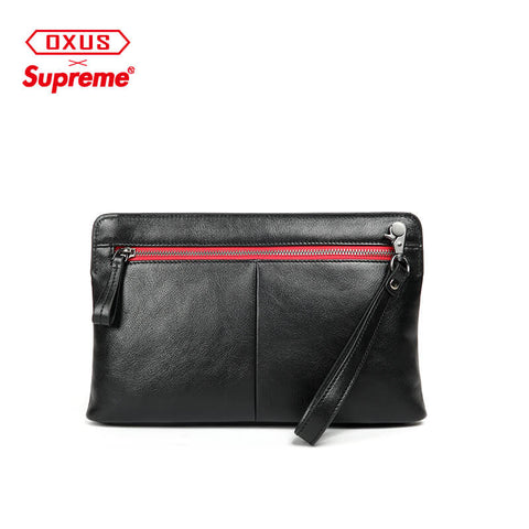 New Arrival SUPREME leather Clutch bag X913130001