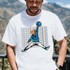 Retro 1 High OG mix shirt   White   JD Teddy Swagger