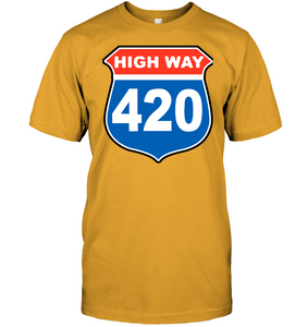 High way 420 WEED white