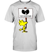 snoopy Wu Men's Shirt 2509 white