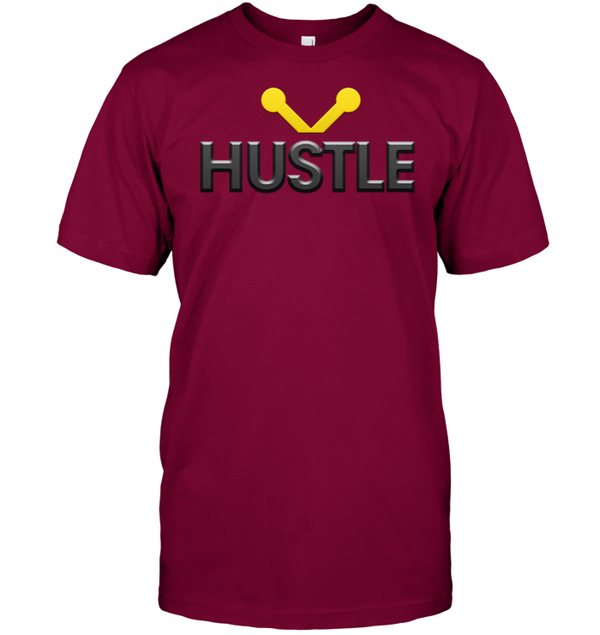 Hustle Shirt hip hop clothing 0210 white