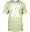 Just do you Men's shirt hip hop style 2609 white