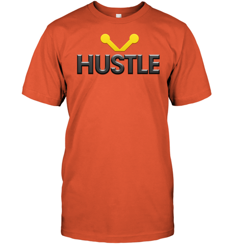 Image of Hustle Shirt hip hop clothing 0210 white