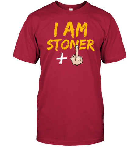 Image of I AM STONER white