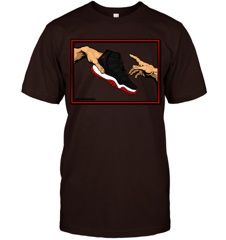 Retro 11 Playoff Bred mix shirt -  Did you Get 'Em?-Dark Color
