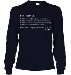 The Notorious B.I.G What's Beef Men's shirt hoodies