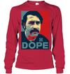 DOPE  Pablo El Presidente Men's Shirt 2509 white