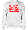 Hustle by Nature hip hop shirt hoodies 0210 white