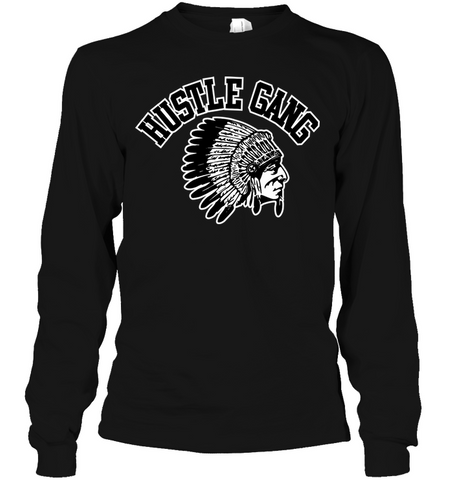 Hustle Gang men's shirt hip hop clothing 0210