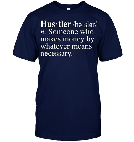 Hustler (n.) Shirts | Clothing hip hop - Rap
