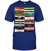 Hip Hop Tapes Black Shirt