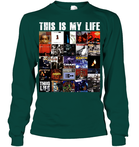 Image of RAP IS MY LIFE 1994 hip hop ALBUMS