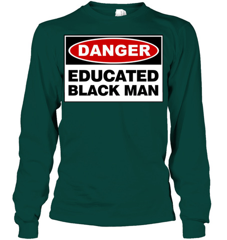 Image of Educated Black Man - Men's shirt