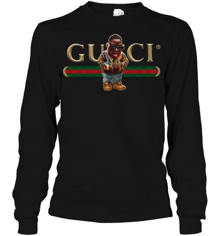 RAP IS MY LIFE Black Gucci Biggie