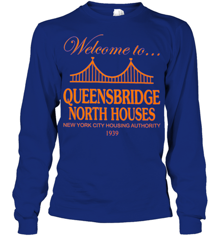 Image of Welcome to ... Queensbridge north house- NY Nas hip hop shirt