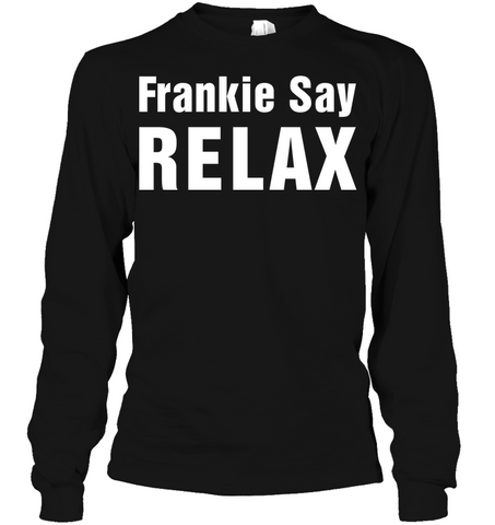Image of Hip hop clothing |Men's t-shirts Frankie Say Relax