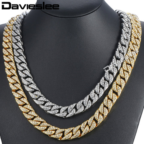 Image of Curb Cuban Chain Necklace For Men - shipping 4-7 days