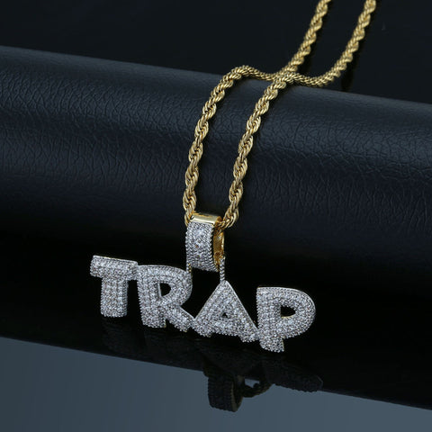 Trap Pendant Necklace