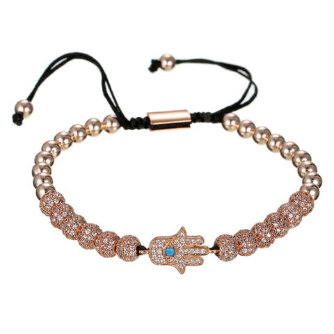 Image of 3pcs/Set Hip Hop Hamsa Hand Bracelet