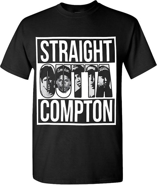 2019 Hot Summer Funny Cool Fashion Printed Hipster Tops Men'S T Shirt N W A Straight Compton Xo The Weeknd Cool T Shirt