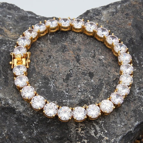 Single Row Tennis Bracelet (8mm)