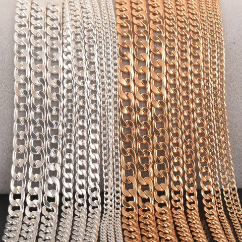 Cuban Link Chain Necklace (3/5/7mm)