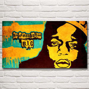 The Notorious B.I.G. Rapper Singer Art