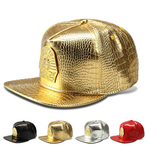 Image of Pharaoh Last Kings LK High Quality Fashion PU HipHop Full Caps Skateboard Baseball Snapback Hats Men Women Rock Rapper Bone Gift