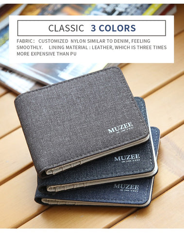 Image of Retro Man Canvas Wallets