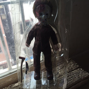 "Hot Living Dead Dolls Halloween 2 Killer Michael Myers Kid Version Classic Rob Zombie Horror Film Mezco 11"" Figure Toys"